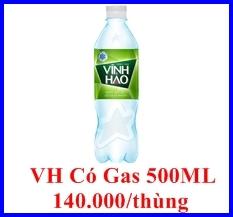 nước khoáng có gas 500 ml